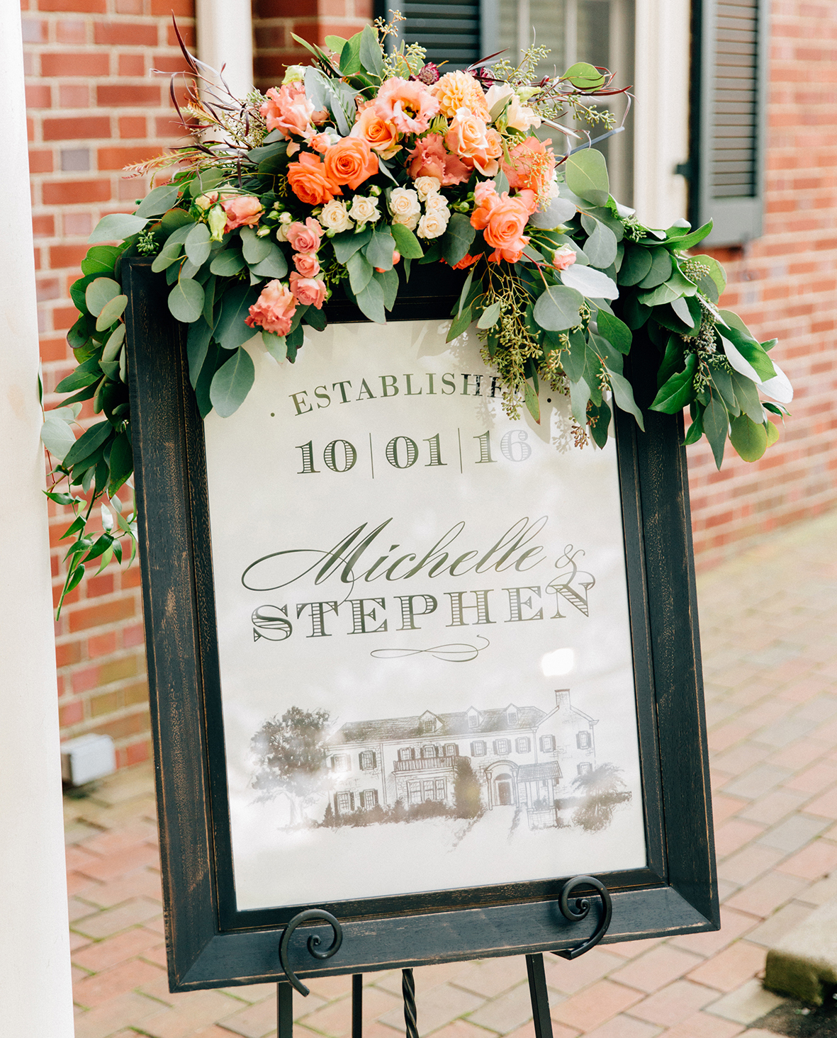 wedding_flowers_welcome_sign_details